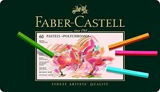 Faber-Castell Polychromos Pastel Crayon 60 Colors Tin Professional Artist