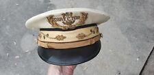Vintage Band Director hat Cap officers band leader bullion 1940's