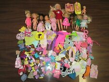 160 Piece Accessories Lot of Kid/Youth/Baby Barbie & Friends Kelly Stacie Krissy