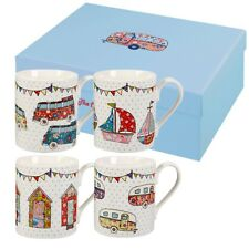 Churchill China Caravan Larch Mug Festival Set