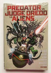 Predator VS Judge Dredd v Aliens NEW Incubus Dark Horse Graphic Novel Comic Book