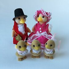 Sylvanian Families RARE waddlington Duck Family figures hautement Collectible