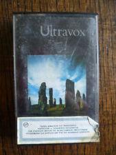 RARE GREECE IMPORT ULTRAVOX LAMENT CASSETTE TAPE 1984 PAPER LABEL CHRYSALIS