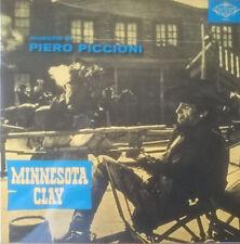 PIERO PICCIONI – Minnesota Clay OST LP CONTEMPO Records Spaghetti Western Vinyl
