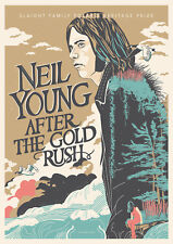Reproduction Neil Young Poster, Home Wall Art, Vintage Print