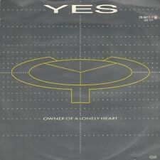 """YES – Owner Of A Lonely Heart (1983 VINYL SINGLE 7"""" GERMANY)"""