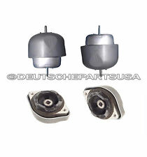 AUDI A4 A4 QUATTRO 2.8 V6 Engine Motor TRANSMISSION TRANNY Mount Mounts SET 4