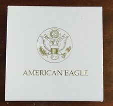 New 1/10 Ounce Gold US Mint Presentation Box Package