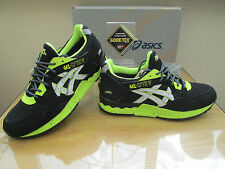 ASICS GEL-LYTE V GORE-TEX BLACK NEON WALKING TRAIL TRAINERS SIZE UK 7  EURO 40.5