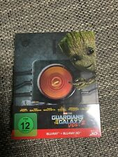 Guardians of the Galaxy Vol.2 3D Steelbook Blu-ray NEU & OVP
