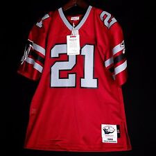 100% Authentic Deion Sanders Mitchell & Ness Falcons NFL Jersey Mens Size 36 S