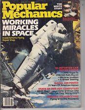 Popular Mechanics Magazine February 1986 Working Miracles in Space NASA /l6