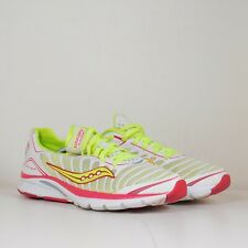 Saucony Progrid Kinvara 3 Women's Yellow Pink Athletic Running Shoes Size 9