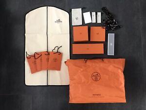 Hermès Paris Konvolut Kleidersack Tasche S M L XL Damen Herren Hermes Jacke Hose