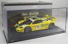 MCLAREN F1 GTR #51 Wallace Bell MACH ONE RACING LE MANS 1995 3rd MINICHAMPS 1:43