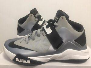 Nike Zoom Soldier VI Lebron James Mens size 11 Grey Black White