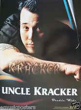 "Uncle Kracker ""Double Wide"" U.S. Promo Poster - Kid Rock Dj, Rock Hip Hop Music"