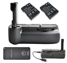 Vertical Shutter Battery Grip For Nikon D3100  2x EN-EL14 + Remote Control