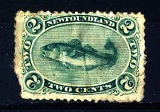 NEWFOUNDLAND - TERRANOVA - 1866 - Merluzzo (Gadus morrhua)