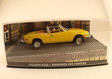 Fabbri James Bond Triumph STAG Diamonds are forever neuf en boîte1/43