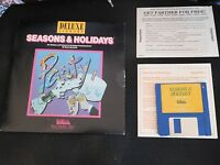 Electronic Arts Deluxe Library Seasons & Holidays For Apple IIGS