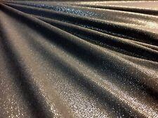 Liquid Charcoal Grey Silver Fog Foil Glitter Jersey Fabric Dressmaking Material