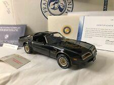 1/24 scale metal FRANKLIN MINT 1977 Pontiac Trans Am
