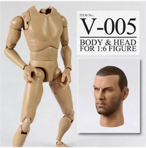 Hollywood Head Sculpt 1/6 Scale with 12'' Body Figure VH05 Movie Star