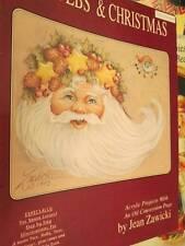 Cobwebs & Christmas Painting Book-Zawicki-Santas/Coat Of Many Colors/Puzzle/Scar