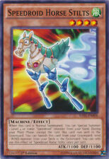 RATE EN006 1ST ED 3X SPEEDROID HORSE STILTS COMMON CARDS
