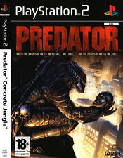 "NEW SEALED PREDATOR CONCRETE JUNGLE PS2 SONY PLAYSTATION 2 GAME PAL-FR  ""RARE"""