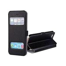 Coque Etui Housse Pochette View Case Noir pour Apple Iphone 4 4S