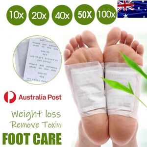 Detox Foot Patch Pad Natural plant Herbal Toxin Removal Weight Loss Up to 100pcs