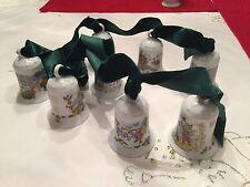 8 Hutschenreuther Glocke Weihnachtsglocke von 1982-1989