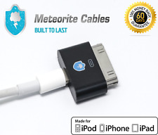8 Pin Lightning Female to 30 Pin Male Adapter for iPhone 4/4S iPod Touch 4 Blk