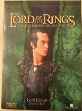 Lord of the Rings Weta Lord Elrond Polysto Bust 746/3000 Fellowship of the Ring