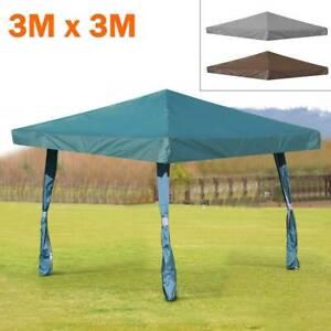 1-Tier 3Mx3M Garden Gazebo Top Cover Roof Wedding Outdoor Party Tent Canopy