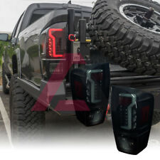 LED Tail Lights Glow Bar for 2016 2017 2018 Toyota Tacoma Black/Smoke NEW UPDATE
