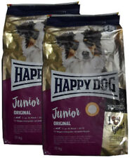 2x10kg Happy Dog Supreme Young Junior Original Hundefutter