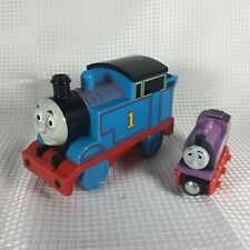 "2012 THOMAS THE TRAIN TALKING STEAM ENGINE 5"" TOY GULLANE ROSIE WOODEN 3"" SET"