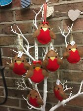 Felt Robins Loved One Christmas Decoration