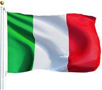 3X5ft ITALY FLAG ITALIAN PRIDE BANNER NATIONAL FLAG W/ BRASS GROMMET USA SELLER