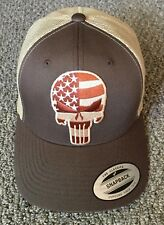 PUNISHER Hat USA Tactical Military Trucker SnapBack Handcrafted in the USA!