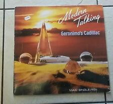 Modern Talking – Geronimo's Cadillac  - Hansa  608 620-213 - 1986 - RARO -