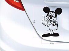 FUUUUUUUCK you Tattoo Sticker-Mickey-Freestanding Sticker-Size 13x20 CM-no: f02