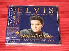 ELVIS PRESLEY The Wonder Of You with The Royal Philharmonic Orchestra JAPAN CD