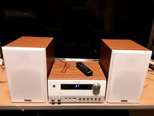 Kenwood M-820DAB-W Compact HiFi-System weiß Holz #