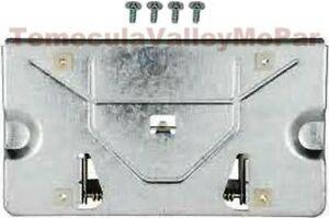 Tilting Rear License Plate Bracket for 1965-1970 MoPar C-Body & 1969-70 Imperial