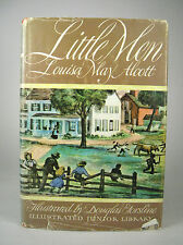 Illustrated Junior Library Little Men by Louisa May Alcott 1947 Hardcover DJ