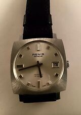Stainless Steel Case Swiss Made Square Wristwatches